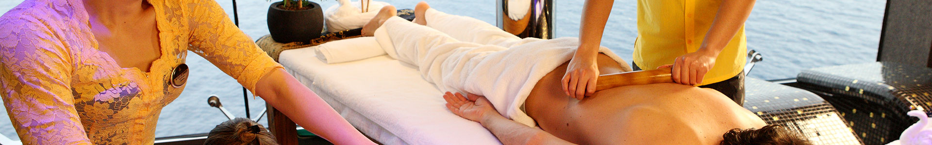 On board wellness & spa center | MSC Yacht Club Massage Rooms | Balinese Spa | Thalassotherapy